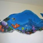 Graffiti avec Némo et ses amis à Lausanne