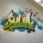 Graffiti Neuchâtel, graffeur en Suisse romande